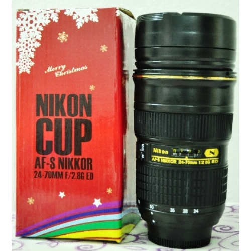 Nikon 24-70mm Lens Coffee Mug (Gift Packaging Edition)