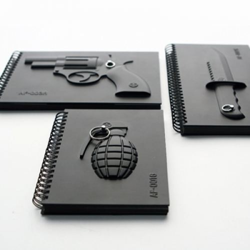 The Black Notebook Series - Armed Notebook