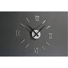 Original Stylish Metalic DIY Wall Clock