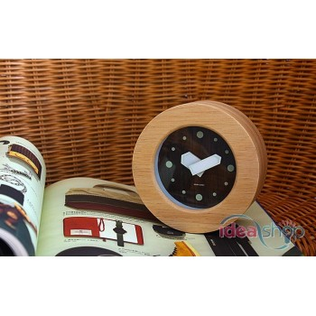 Creative Homeliving Table Top Wooden Clock
