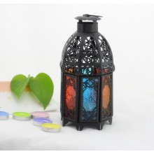 Moroccan Design Metal Candle Stand Decoration
