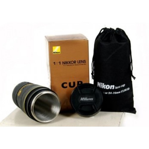 Nikon 24 70mm lens coffee mug Nikon camera lens coffee mug