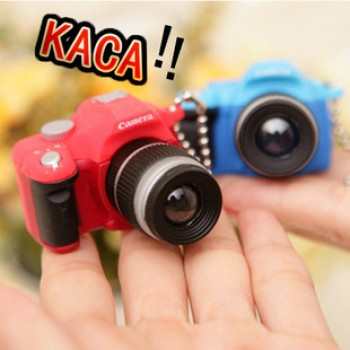 RocknRoll Mini Camera Lucky Charm Keychain