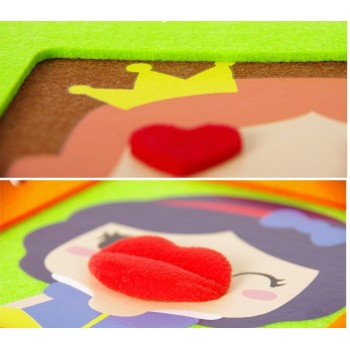 Snow White Prince and Princess DIY Photo Album