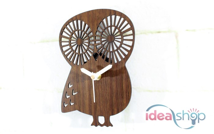 cute-owl-wooden-colour-silent-wall-clock
